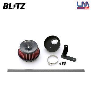 [BLITZ] ブリッツ サスパワー コアタイプLM レッド エアクリーナー コペンセロ LA400K 15/06〜 KF(Turbo) ターボ専用 auto-craft