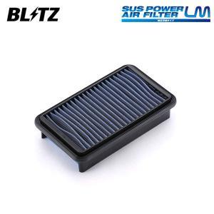 [BLITZ] ブリッツ サスパワー エアフィルター LM SS-728B 59600 ジムニー JB23W 98/10〜 K6A Turbo auto-craft