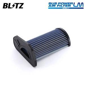 [BLITZ] ブリッツ サスパワー エアフィルター LM SD-61B 59511 コペン L880K 02/06〜 JB-DET|auto-craft
