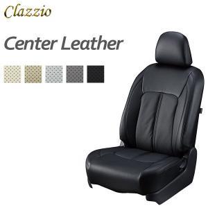 Clazzio クラッツィオ センターレザー シートカバー ハスラー MR31S MR41S H26/1〜 4人乗 [H27.12.6以前の{G Gターボのセットオプション装着車} X 他]|auto-craft