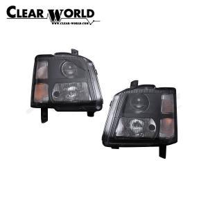 クリアワールド スズキ ワゴンR [MC11S/MC21S] クリアヘッドライト インナーブラック|auto-craft