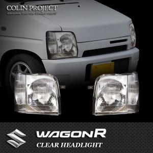 [COLIN] コーリン ワゴンR CT21S/CV21S/CT51S/CV51S クリアヘッドライト 旧品番 SU1-801 ※代引不可|auto-craft