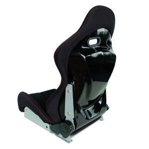 [ACRD] オリジナル リクライニングバケットシート ブラック (汎用シートレール無し) (送料:4320円、北海道6480円、沖縄,離島は要問合せ)|auto-craft|02