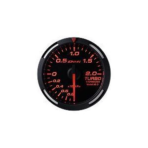 Defi Racer Gauge デフィ レッドレーサーゲージ ターボ計/ブースト計 52φ 赤|auto-craft