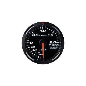 Defi Racer Gauge デフィ ホワイトレーサーゲージ ターボ計/ブースト計 52φ 白|auto-craft