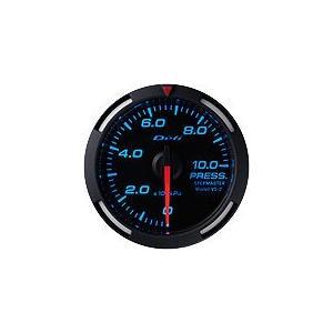 Defi Racer Gauge デフィ ブルーレーサーゲージ 油圧計/圧力計/プレス計 52φ 青|auto-craft