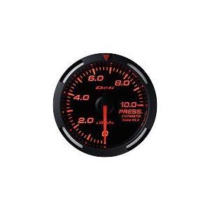 Defi Racer Gauge デフィ レッドレーサーゲージ 油圧計/圧力計/プレス計 52φ 赤|auto-craft