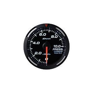Defi Racer Gauge デフィ ホワイトレーサーゲージ 油圧計/圧力計/プレス計 52φ 白|auto-craft