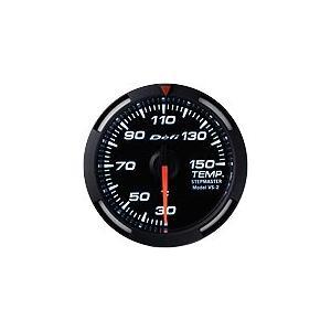 Defi Racer Gauge デフィ ホワイトレーサーゲージ 温度計(水温計/油温計) 52φ 白|auto-craft