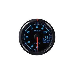 Defi Racer Gauge デフィ ブルーレーサーゲージ 排気温度計 52φ 青|auto-craft