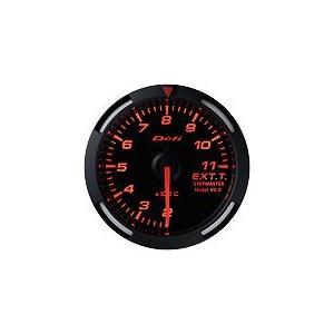 Defi Racer Gauge デフィ レッドレーサーゲージ 排気温度計 52φ 赤|auto-craft