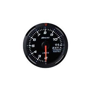 Defi Racer Gauge デフィ ホワイトレーサーゲージ 排気温度計 52φ 白|auto-craft