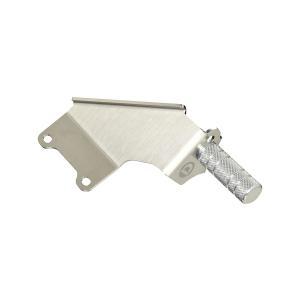 [D-SPORT]  フットレストバー コペン LA400K 14.06〜17.01 MT車用 沖縄・離島は要確認|auto-craft