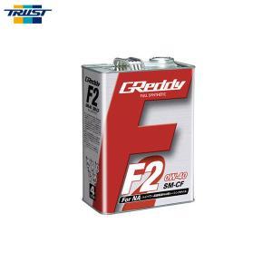 [TRUST] トラスト F2エンジンオイル 0W-40 4L缶 100%化学合成油 SM-CF FULL SYNTHETIC BASE|auto-craft