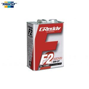 [TRUST] トラスト F2エンジンオイル 15W-50 4L缶 100%化学合成油 SM CF|auto-craft