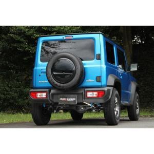 [FUJITSUBO] フジツボ マフラー オーソライズK ジムニー シエラ 3BA-JB74W  H30.07〜 K15B|auto-craft