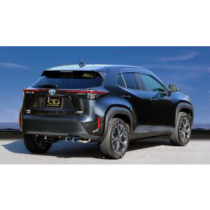 GANADOR マフラー Vertex 4WD/SUV ヤリスクロス ハイブリッド 6AA-MXPJ10 2020/8〜 M15A-FXE2WD [HYBRID Z / HYBRID G 他] 個人宅不可 離島は要確認|auto-craft