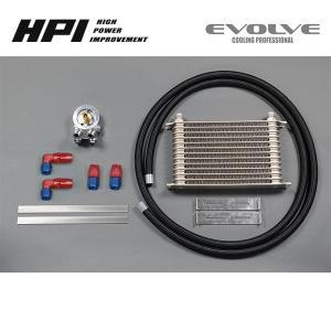 [HPI] ドロンカップ式 汎用オイルクーラーキット (エレメント純正位置) 【 M20×P1.5 コアタイプ:13段 】 ※北海道・沖縄・離島は送料別途 auto-craft