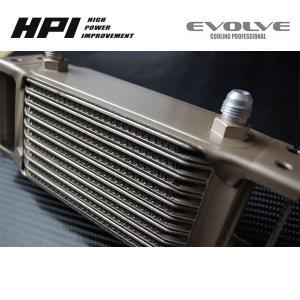 [HPI] ドロンカップ式 オイルクーラー コア単体【コア段数:13段 コアサイズ:L300×H182×W50】|auto-craft