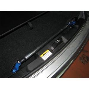 [カワイ製作所] リアモノコックバー 【 コペン [L880K] 】 トランクバー・リジットタイプ|auto-craft