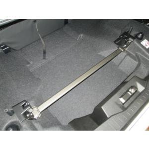 [カワイ製作所] リアモノコックバー 【 コペン [LA400K] 】 トランクバー|auto-craft