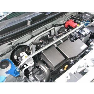 [カワイ製作所] フロントストラットバー (STD-Type)【 ハスラー [MR41S] ('15/05〜) エネチャージ車 】|auto-craft