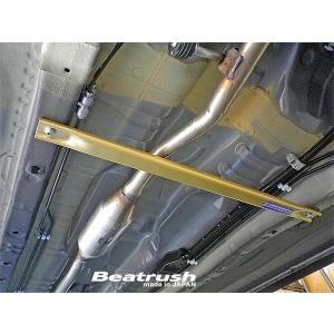 [LAILE] レイル Beatrush フロアー補強バー フロント スズキ ハスラー [MR31S 14.1〜]|auto-craft