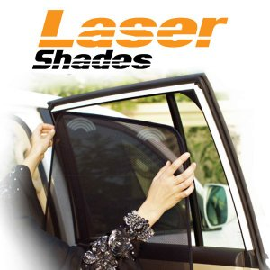 [LaserShades] レーザーシェード 2枚 前席左右セット トヨタ ハリアー 【TOYOTA HARRIER [ZSU60W/ZSU65W]】 auto-craft