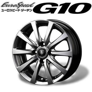 ユーロスピード ≪ G10 (ジーテン)≫ 14×4.5J 4H PCD100 +43 4本購入で送料無料|auto-craft