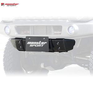 [Monster Sport] モンスタースポーツ XCLスキッドバンパー 取付金具レス(黒ゲルコート仕上)【 ジムニー [JB23W] 1〜10型 】【代引不可】|auto-craft