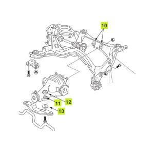 nismo ニスモ  強化ブッシュ デフマウントブッシュキット フェアレディZ Z32 〜'98/10|auto-craft