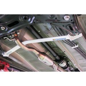 [OKUYAMA] オクヤマ メンバーブレース セット 【 アルトワークス / アルトターボRS HA36S 4WD車専用 】(メンバーブレースフロント+フレームブレースセンター) auto-craft