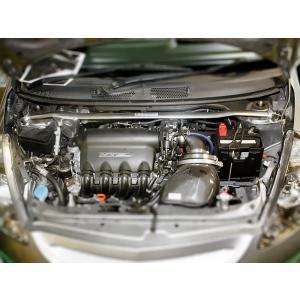 [OKUYAMA] オクヤマ ストラットタワーバー タイプ1 MSC(スチール)  フロント用【 フィット GD3 】|auto-craft