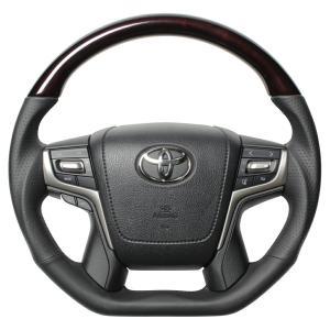 [REAL] レアル ステアリング 【 クラウンアスリート210系 (2012年12月〜) 】 210ブラックウッド|auto-craft