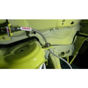 ORSタニグチ  テフロンステンメッシュブレーキホース ブラックコート ジムニー JB64W auto-craft