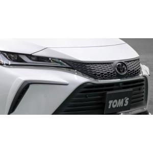 "TOM'S フロントグリル ABS素地 ハリアー MXUA80 MXUA85 2020/6〜 Z / Z""Leather Package"" 個人宅配送不可 沖縄・離島は送料着払い|auto-craft"