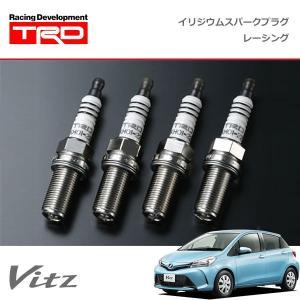 [TRD] イリジウムスパークプラグ レーシング 1本 ヴィッツ KSP130 NCP131 NSP130 NSP135 14/04〜16/12 1.5Lエンジン車|auto-craft