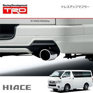 [TRD] ドレスアップマフラー(ディーゼル) ハイエースバン KDH20# KDH211 KDH22# TRH200 TRH21# TRH22# 04/08〜17/11 標準ボディ車のディーゼルエンジン車のみ auto-craft