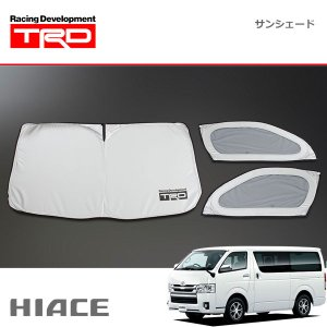 [TRD] サンシェード ハイエースバン KDH20# KDH211 KDH22# TRH200 KDH21# KDH22# 04/08〜 標準ボディ車|auto-craft