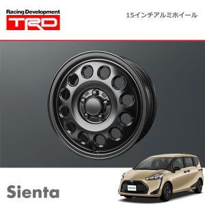 TRD 15インチアルミホイール シエンタ NCP175G NHP170G NSP170G 19/10〜 除くキー付ホイールナット付車、16インチホイールタイヤ(メーカーオプション)付車|auto-craft