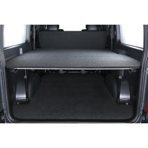 [UIvehicle] ≪マルチウェイバリューベッドキット (ブラック)≫ 【ハイエースバン 200系 標準 (1~4型) [DX ※リアヒーター無し] 】 ※送料注意|auto-craft