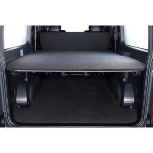 [UIvehicle] ≪マルチウェイバリューベッドキット (ブラック)≫ 【ハイエースバン 200系 スーパーロング (1~4型) [DX ※リアヒーター無し] 】 ※送料注意 auto-craft