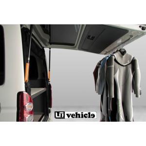 [UIvehicle] リアゲート用ダンパーストッパー2本 ハイエース200ワイド S-GL/GL/DX/グランドキャビン/コミュータ auto-craft