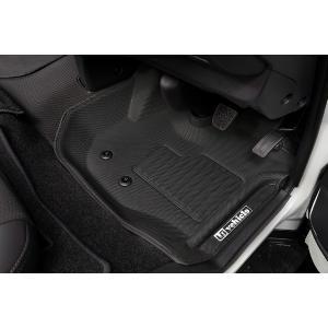 [UIvehicle] ≪3Dラバーマット (フロント 3ピース)≫ 【ハイエース 200 標準 1-4型 [スーパーGL/DX] ※MT車不可】※送料注意|auto-craft