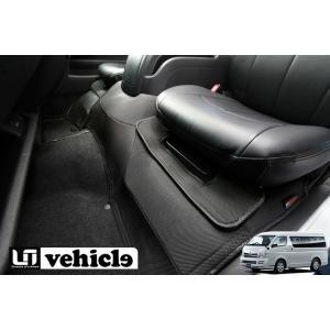 [UIvehicle] ≪3Dラバーエンジンルームカバー (フロント)≫ 【ハイエース 200系 標準ボディ (1~4型) [スーパーGL] 】※送料注意|auto-craft
