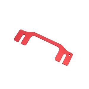 [G'BASE] ジーベース アルトワークス用 ステアリングローポジアダプター タイプ3【 SUZUKI ALTO / WORKS / RS [HA36S] 】(アルミ レッドアルマイト/ 10mmダ|auto-craft