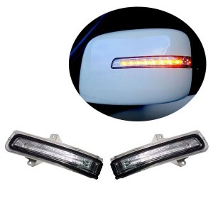 流れるウィンカー LEDチューブドアミラーウィンカー 左右セット   クリア AZワゴン MJ23S H20/9〜H24/9|auto-craft