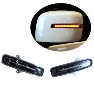 流れるウィンカー LEDチューブドアミラーウィンカー 左右セット インナーブラック スズキ ジムニー JB23W H20/6〜H26/8 7型〜 auto-craft