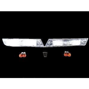 送込 ランドクルーザー ランクル60 クリスタルウィンカー ランプ|auto-parts-jp