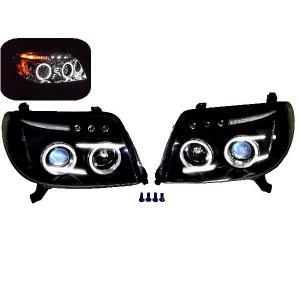 ハイラックス サーフ LED イカリング ヘッドライ トランプ 210 215  auto-parts-jp